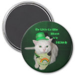 The Little Cat Who Wanted to be Irish Refrigerator Magnet