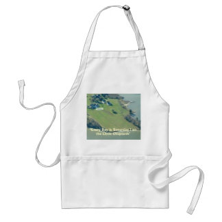 The Little Choptank- aerial view, Adult Apron