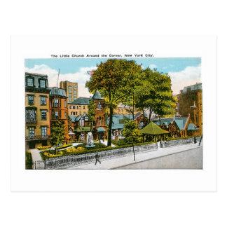 The Little Church Around the Corner, New York City Postcard