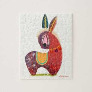 The Little Donkey Without a Tail Children's Puzzle