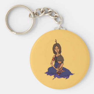 The Little Dreamer Animation 1 - Mother and Child Keychain