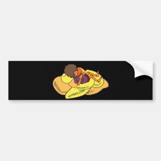 The Little Dreamer Animation 1 - Zayoni & Mangoes Bumper Sticker