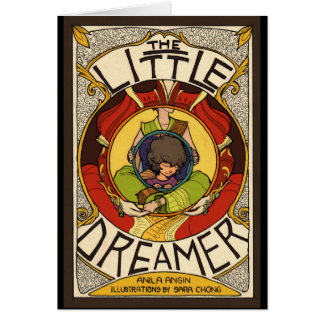 The Little Dreamer Book Cover w/ Quote Card