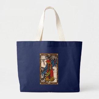 The Little Dreamer - Gypsy Fortune Teller Large Tote Bag