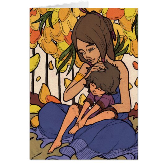 The Little Dreamer - Mother and Child Card
