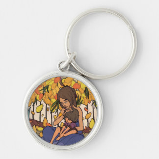 The Little Dreamer - Mother and Child Keychain