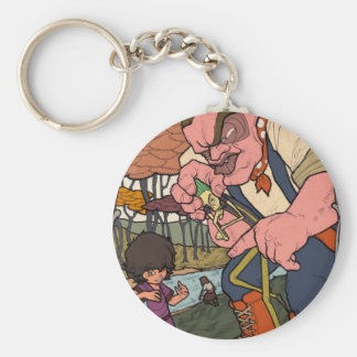 The Little Dreamer - Warship and Wire Men Keychain