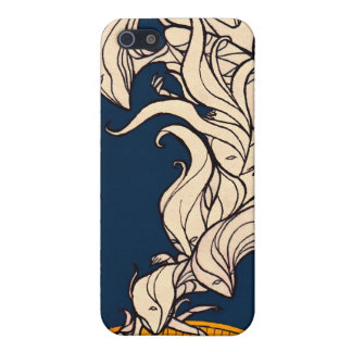 The Little Dreamer - White Flames iPhone SE/5/5s Cover
