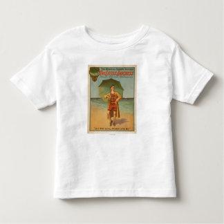 """""""The Little Duchess"""" Man on Beach Musical Tee Shirt"""