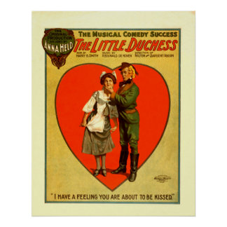 The Little Duchess Performing Arts Vintage Poster