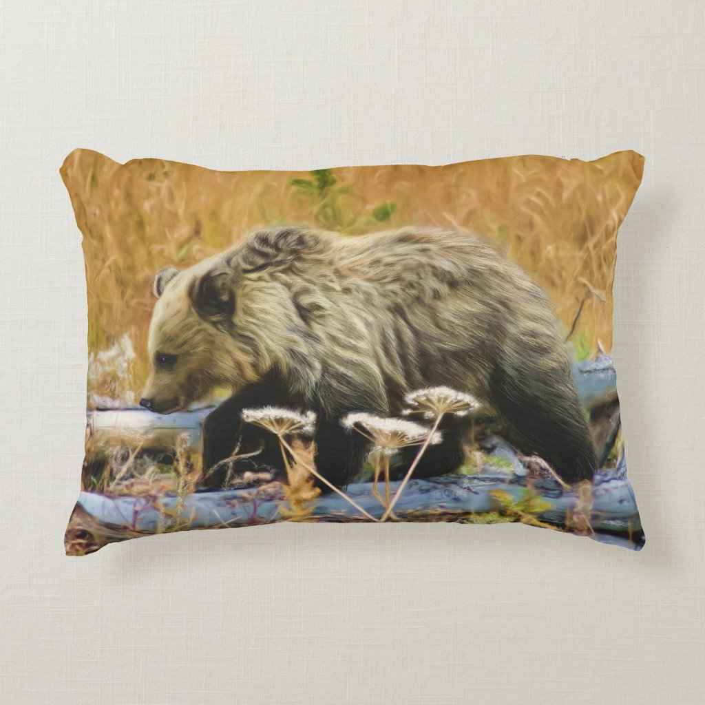 The Little Explorer Decorative Pillow
