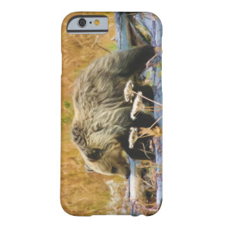 The Little Explorer Grizzly Bear Cub Barely There iPhone 6 Case