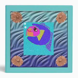 The Little Fish Who Blew Bubbles Binders