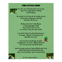 THE LITTLE FROG POSTER