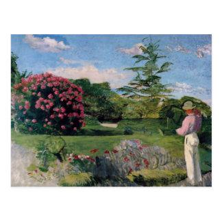 The Little Gardener, Frederick Bazille Postcard