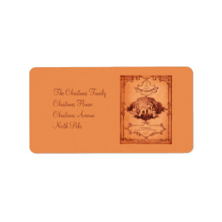 The Little Glass Slipper 1 Personalized Address Label