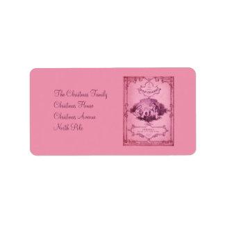 The Little Glass Slipper 3 Custom Address Label
