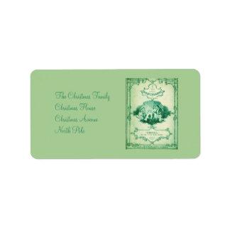 The Little Glass Slipper 4 Label