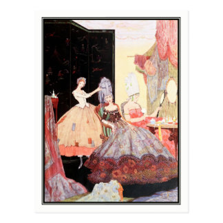 The Little Glass Slipper by Harry Clarke Postcard