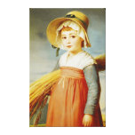 The Little Gleaner, 1824 Gallery Wrap Canvas