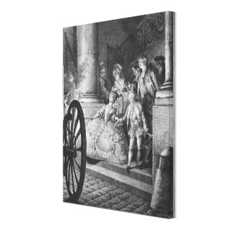 The Little Godfathers Canvas Print