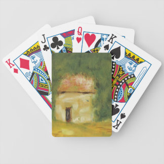 The Little House by Pierre-Auguste Renoir Deck Of Cards