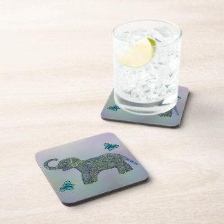 The Little Jade Elephant Coaster Set