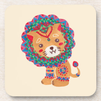 The Little King of the Jungle Beverage Coaster