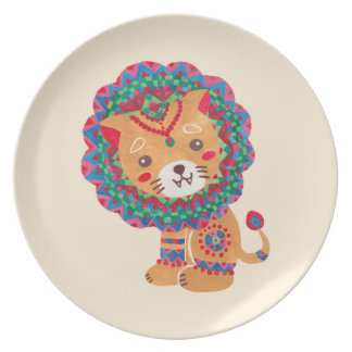 The Little King of the Jungle Dinner Plate