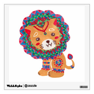 The Little King of the Jungle Wall Decal