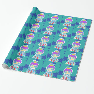 The Little King Wrapping Paper