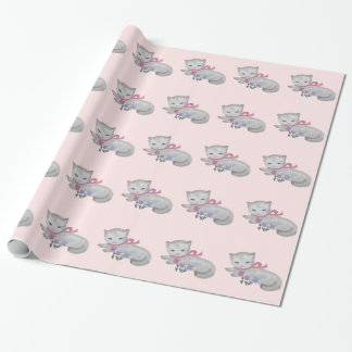 The Little Kitten Wrapping Paper