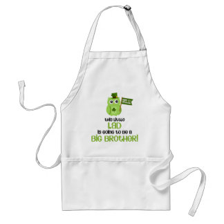 The Little Lad Big Brother Adult Apron