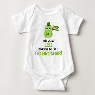 The Little Lad Big Brother Baby Bodysuit