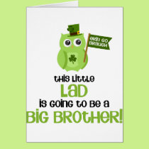 The Little Lad Big Brother Card