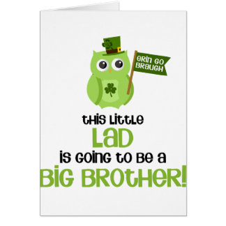 The Little Lad Big Brother Cards