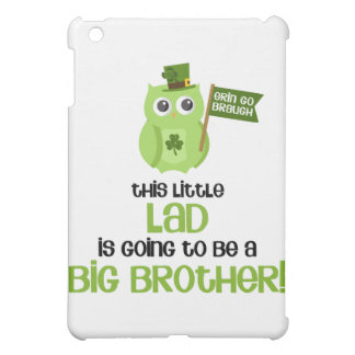 The Little Lad Big Brother iPad Mini Cover