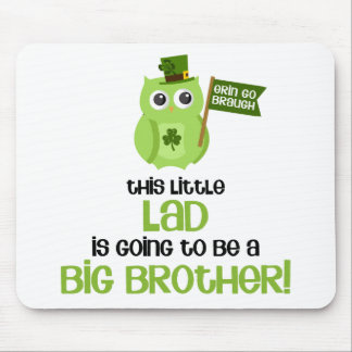 The Little Lad Big Brother Mouse Pad