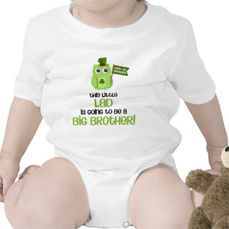 The Little Lad Big Brother Romper