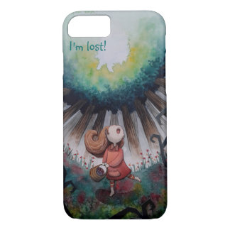 The little lost red riding hood iPhone 7 case
