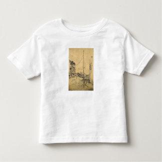 The little Mast by James Abbott McNeill Whistler Toddler T-shirt