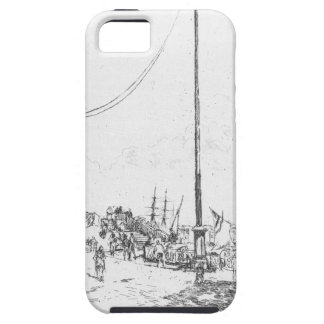 The Little Mast by James McNeill Whistler iPhone SE/5/5s Case
