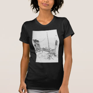 The Little Mast by James McNeill Whistler T-Shirt