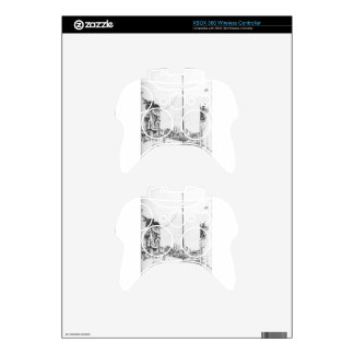 The Little Mast by James McNeill Whistler Xbox 360 Controller Skins