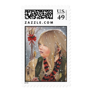 The Little Match Girl Postage