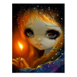 """""""The Little Match Girl"""" Postcard"""