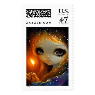 """""""The Little Match Girl"""" Stamps"""
