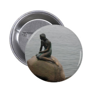The Little Mermaid Button