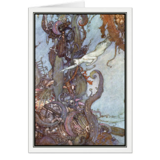 The Little Mermaid by Edmund Dulac Card