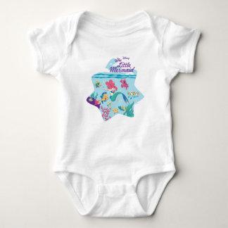 The Little Mermaid & Friends Baby Bodysuit